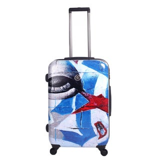 Neocover Eye See America 28-inch Hardside Spinner Upright Suitcase