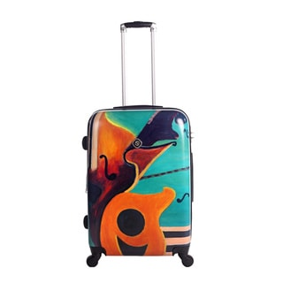 Neocover Music In Memphis 28-inch Hardside Spinner Upright Suitcase