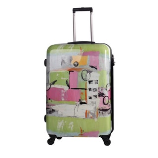 Neocover Fun Pastels 28-inch Hardside Spinner Upright Suitcase