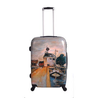 Neocover Summer Docks 28-inch Hardside Spinner Upright Suitcase