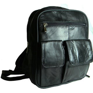 Hollywood Tag Traditional Double Leather Backpack