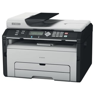 Ricoh SP 204SN Laser Multifunction Printer - Monochrome - Plain Paper