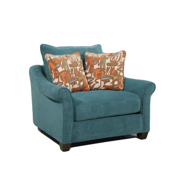 Isabella Plush Armchair Overstock Shopping Great Deals On Living Room Chairs