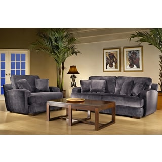 Melanie Smoke Sofa and Chair Set