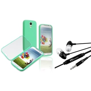 BasAcc Book-Style Case/ Headset with Mic for Samsung Galaxy S4/ S IV