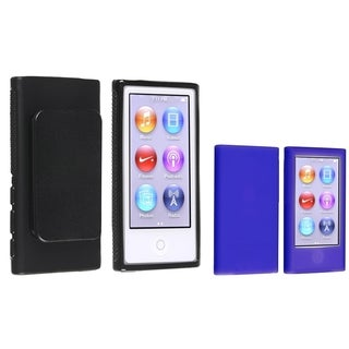 BasAcc 2-case Set for Apple iPod Nano 7