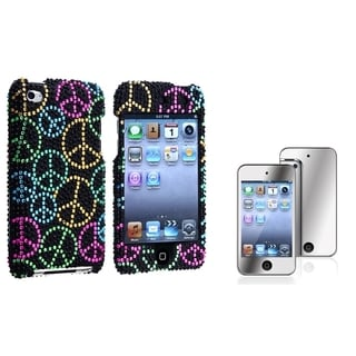 INSTEN iPod Case Cover/ LCD Protector for Apple iPod Touch 4