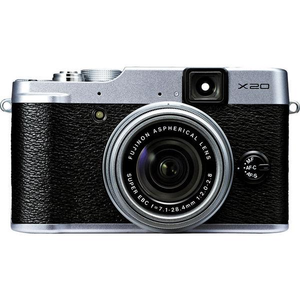 Fujifilm X20 12 Megapixel Compact Camera - Silver