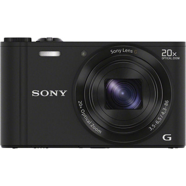 Sony Cyber Shot DSC-WX300 WiFi 18.2MP Black Digital Camera