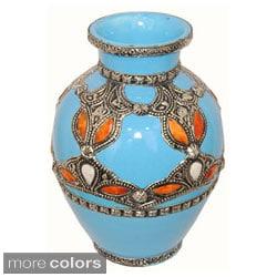 Ceramic Sahara Vase (Morocco)