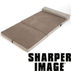 The Sharper Image Fold & Go Memory Foam Slumber Pad