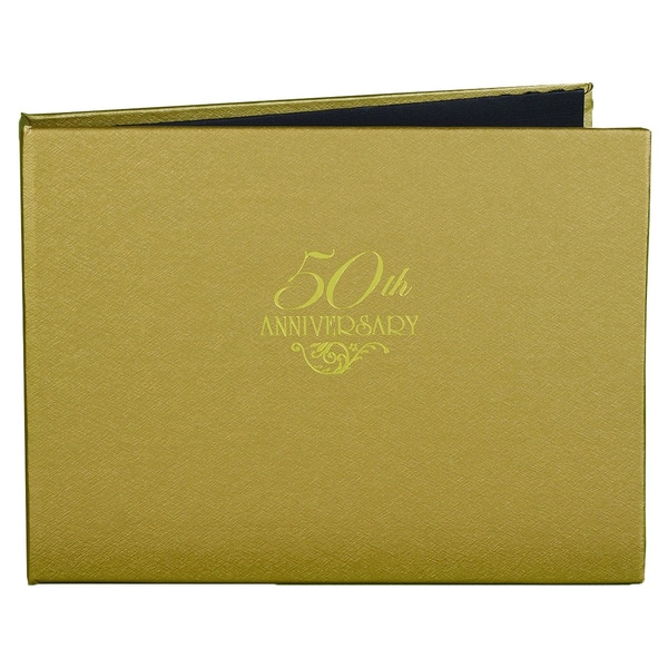 50th Anniversary Gold Guest Book 11618016