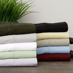 Majestic 500 Thread Count Cotton Rich Sheet Set with Bonus Extra Pillowcases