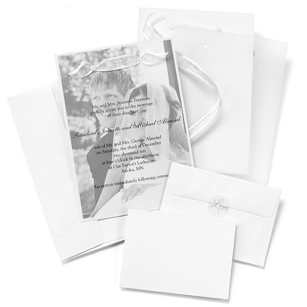 Photo Overlay Invitation Kit