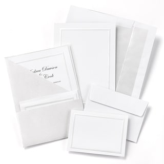Pearl Shimmer Foil Pocket Invitation Kit