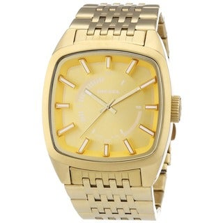 Diesel Men's Goldtone Analog Watch