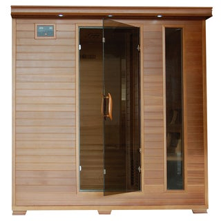 6-Person Cedar Carbon Infrared Sauna