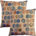 Bebop Spa 17-inch Throw Pillows (Set of 2)