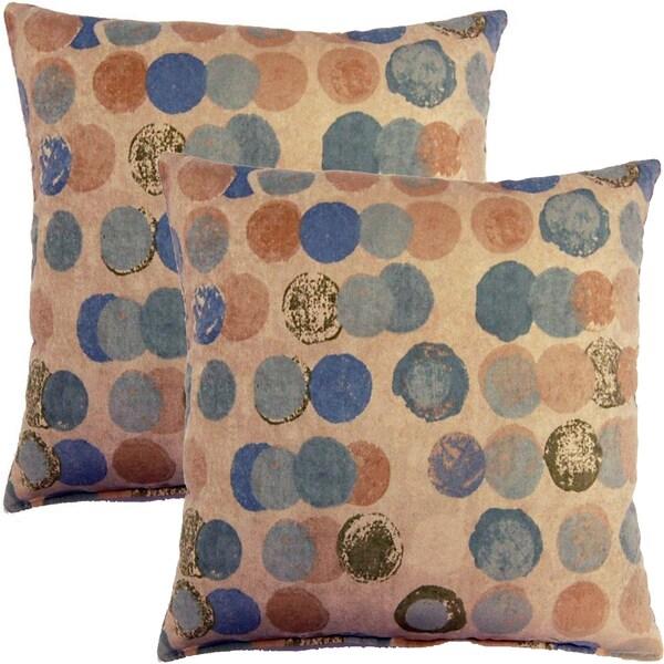 Bebop Spa 17-inch Throw Pillows (Set of 2)
