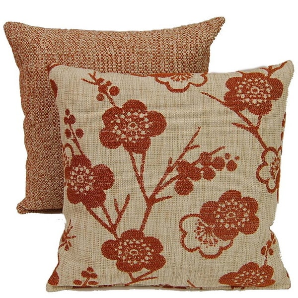 Bloom Delight Hacienda 17-inch Throw Pillows (Set of 2)