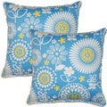 Gemma Bluebell 17-inch Throw Pillows (Set of 2)