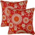 Gemma Sorbet 17-inch Throw Pillows (Set of 2)