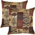 Laramie Sagebrush 17-inch Throw Pillows (Set of 2)