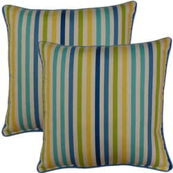 Line Up Bluebell 17-inch Throw Pillows (Set of 2)
