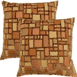 Marcato Pebble 17-inch Throw Pillows (Set of 2)