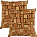 Marcato Pebble 17-inch Throw Pillows (Set of 2)