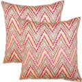 Trend Spotter Punch 17-inch Throw Pillows (Set of 2)
