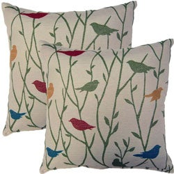 Twitter Mojito 17-inch Throw Pillows (Set of 2)