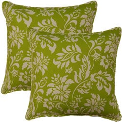 Wexford Grass 17-inch Throw Pillows (Set of 2)