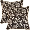 Wexford Noir 17-inch Throw Pillows (Set of 2)