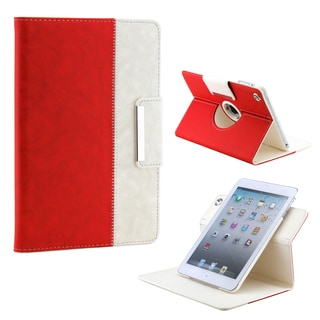 Gearonic 360 Rotating PU Leather Case Smart Cover for iPad Mini