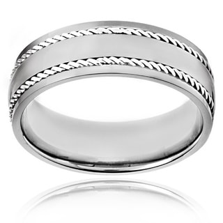 Titanium Rope Detail Band
