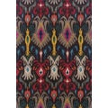 Kaleidoscope Grey/ Multi Polypropylene Rug (6'7 x 9'1)