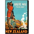 Oliver Gal 'New Zealand' Canvas Art