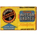 Oliver Gal 'Mission Orange' Canvas Art
