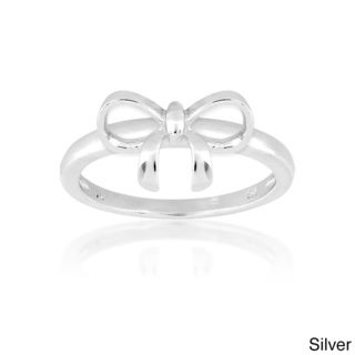 La Preciosa Sterling Silver Bow Ring