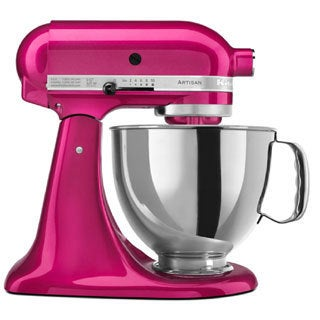 KitchenAid RRK150RI Raspberry Ice 5-quart Artisan Tilt-Head Stand Mixer (Refurbished)