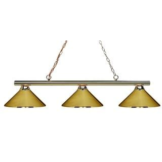 Sharp Shooter 3-light Billiard Light Fixture