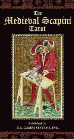 Medieval Scapini Tarot Deck (Cards)