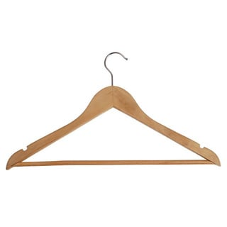 Wooden Coat Hangers (Set of 25)