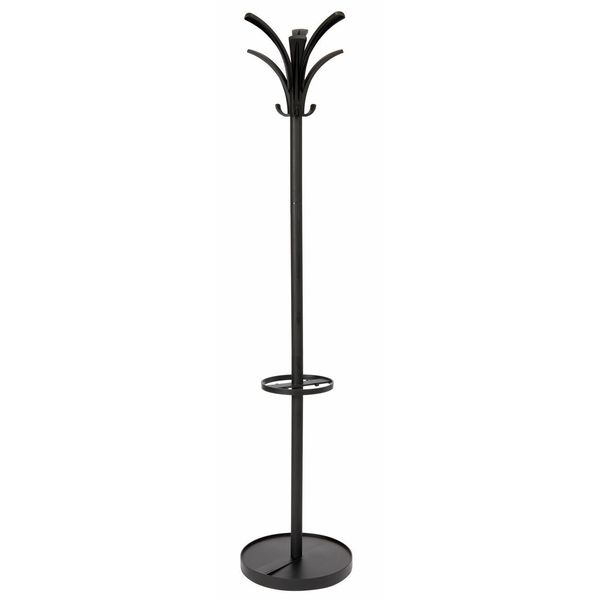 Black Floor Coat Rack