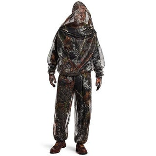 Yukon Gear Mesh Camo Suit with Gloves