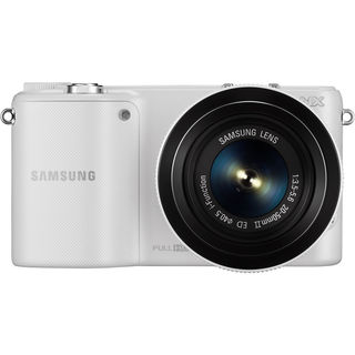 Samsung NX2000 Mirrorless White Digital Camera 20-50mm f/3.5-5.6 Lens