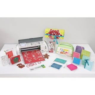 Cricut Expression & Cuttlebug Diecutting & Embossing Machine Bundle + 15 Bonus Accessories