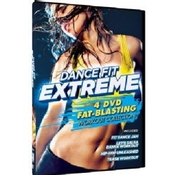 Dance Fit Extreme: 4 DVD Fat-Blasting Workout Collection