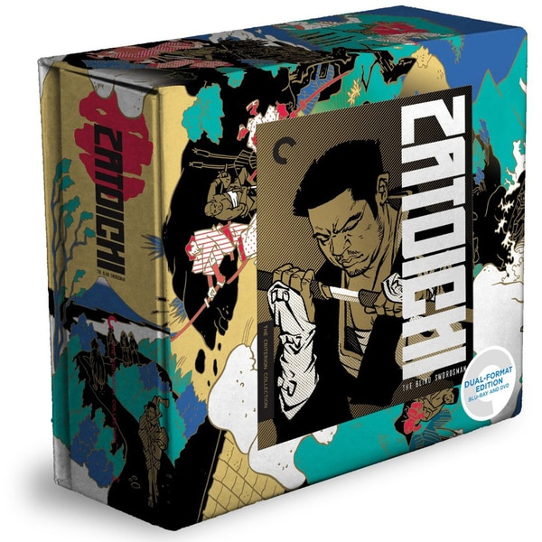 Zatoichi: The Blind Swordsman Box Set - Criterion Collection (Blu-ray/DVD) 11621819